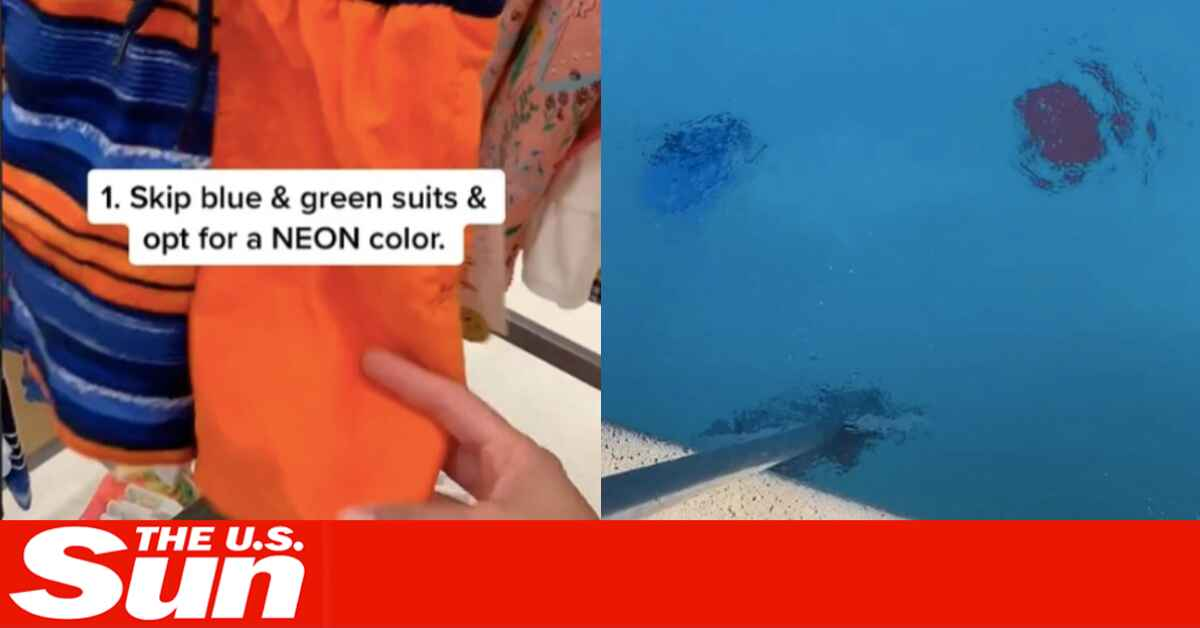 Mom claims all parents should ditch kids' blue swimsuits - and it could be lifesaving